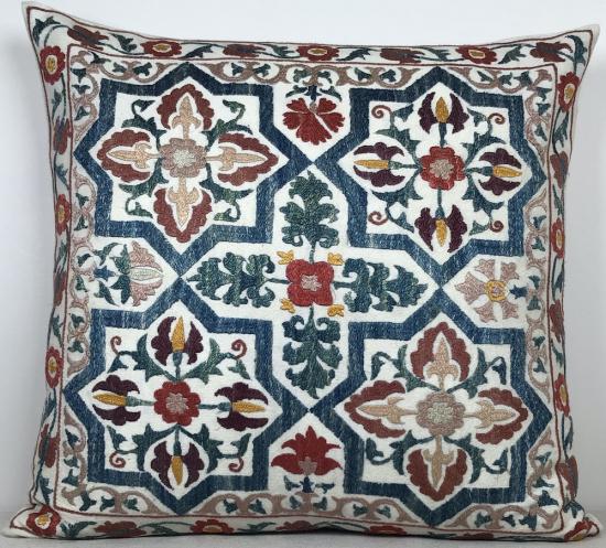 Suzani Yastık (50X50 cm)