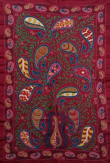 Suzani İpek Panel ( 90x138 cm )