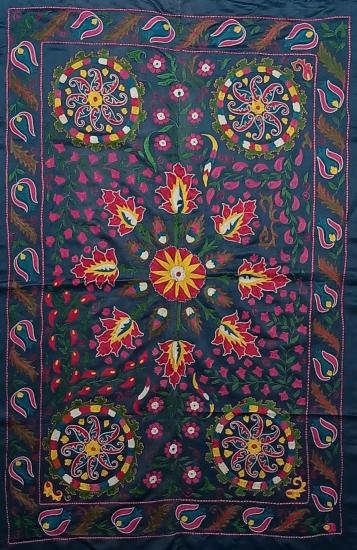 Suzani İpek Panel ( 90x140 cm )
