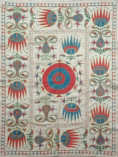 Suzani İpek Panel ( 100x130cm )
