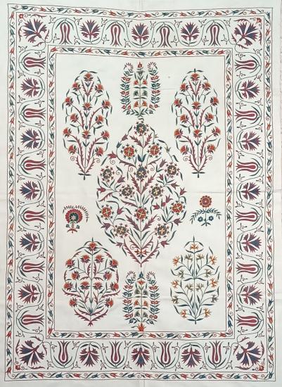 Suzani İpek Panel ( 100x137cm )