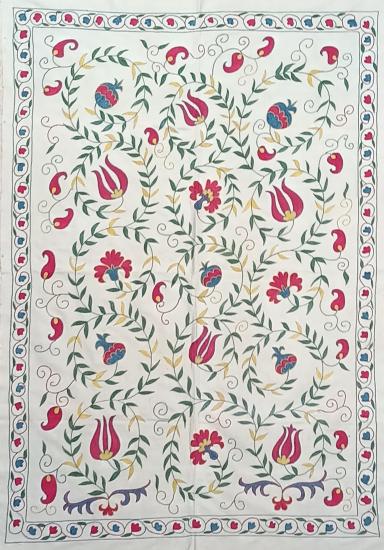 Suzani İpek Panel ( 100x142 cm )