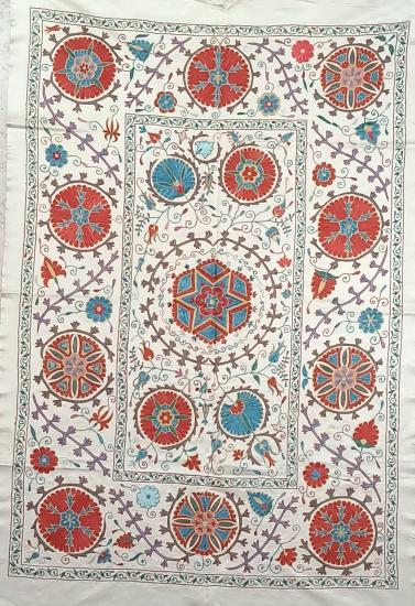 Suzani İpek Panel ( 100x145cm )