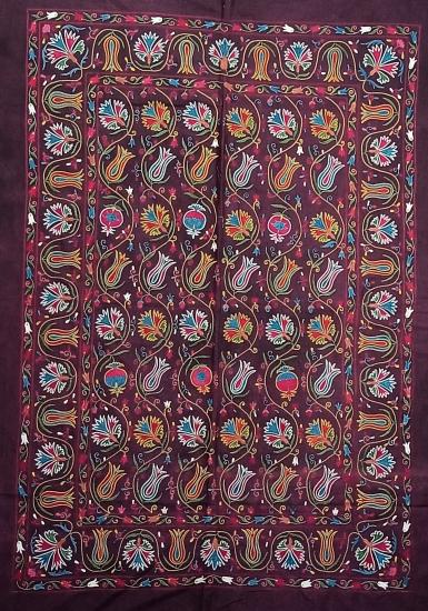 Suzani İpek Panel ( 100x146 cm )