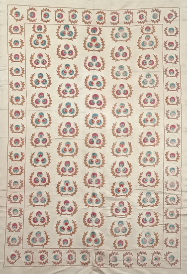 Suzani İpek Panel ( 100x147 cm )