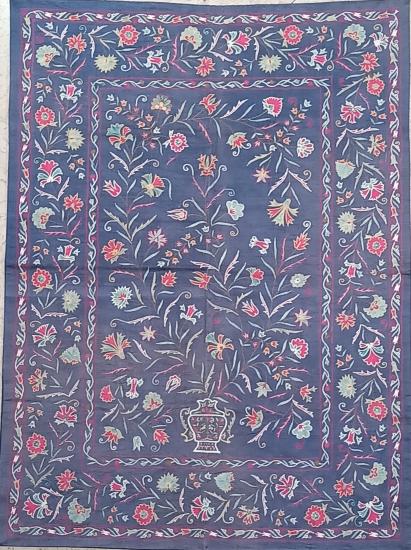 Suzani İpek Panel (103x140 cm )