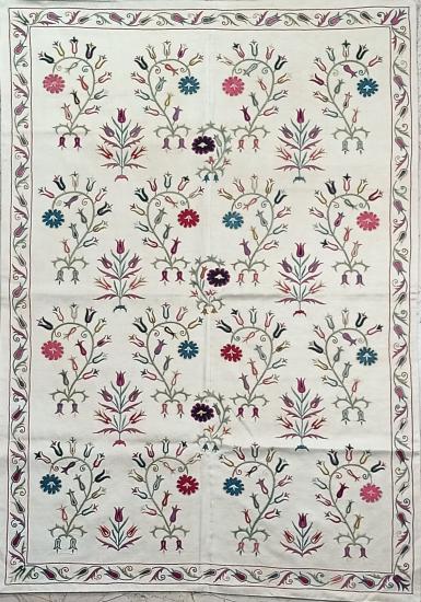 Suzani İpek Panel ( 103x150 cm )