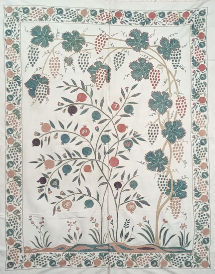Suzani İpek Panel ( 115x147cm )