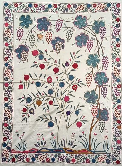 Suzani İpek Panel ( 117x160 cm )