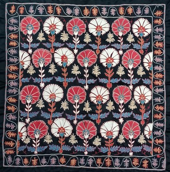 Suzani İpek Panel ( 130x135cm )