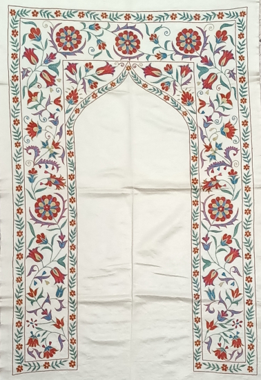 Suzani İpek Panel ( 80x122cm )