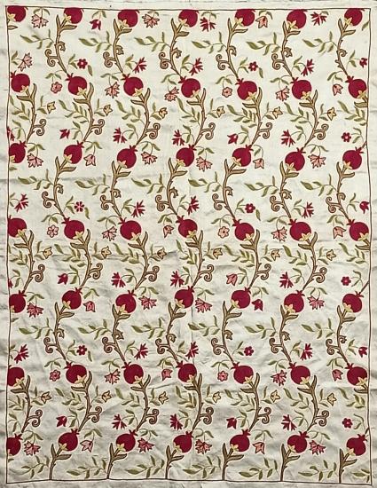 Suzani İpek Panel ( 87x112 cm )