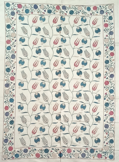 Suzani İpek Panel ( 95x133 cm )