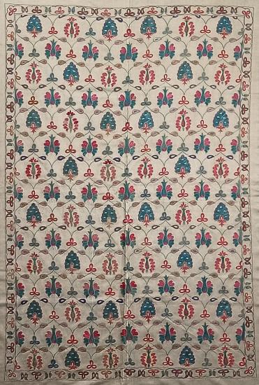 Suzani İpek Panel ( 95x145 cm )