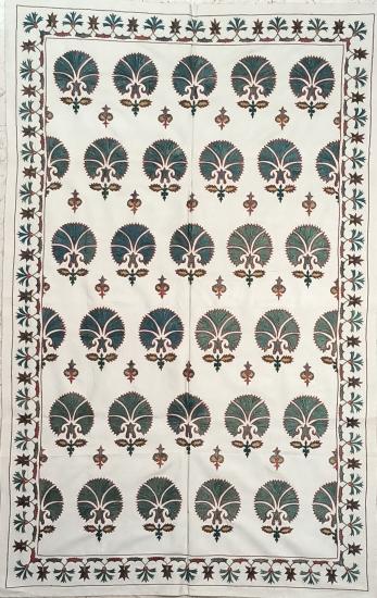 Suzani İpek Panel ( 95x153 cm )
