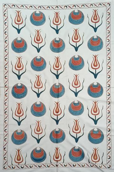 Suzani İpek Panel ( 96x150 cm )