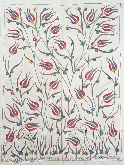 Suzani İpek Panel ( 97x130 cm )