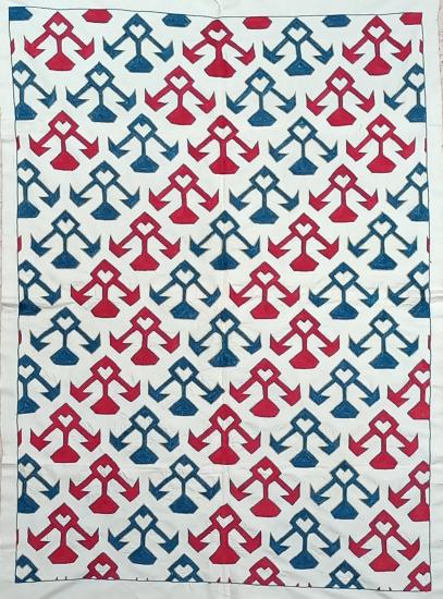 Suzani İpek Panel ( 97x135cm )