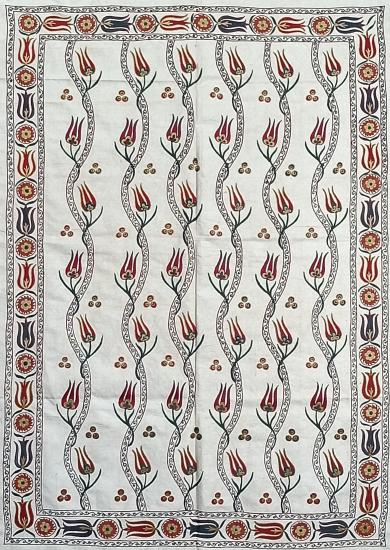 Suzani İpek Panel ( 97x136cm )