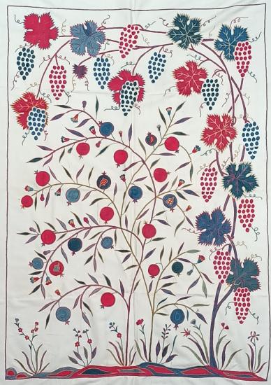 Suzani İpek Panel ( 98x138 cm )