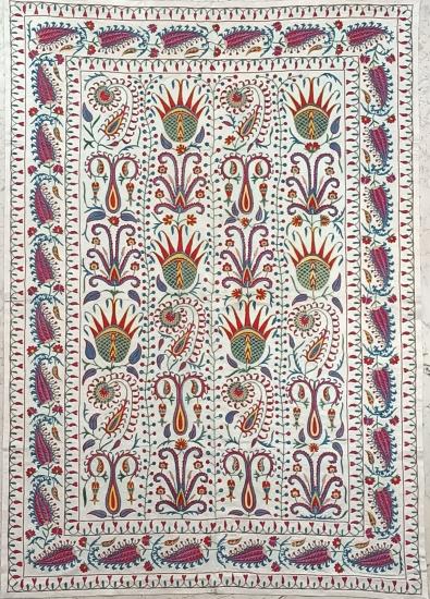 Suzani İpek Panel ( 100x143cm )