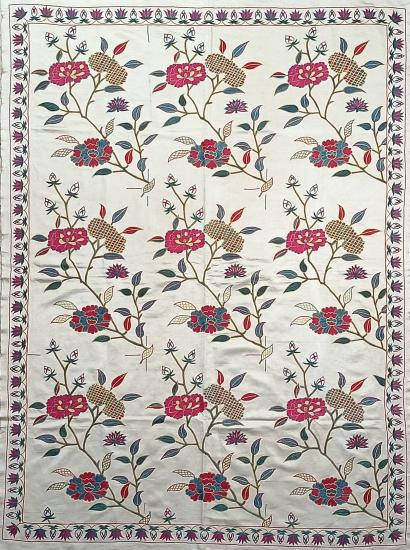Suzani İpek Panel ( 125x170cm )