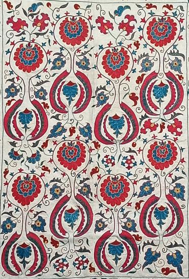 Suzani İpek Panel ( 97x130cm )