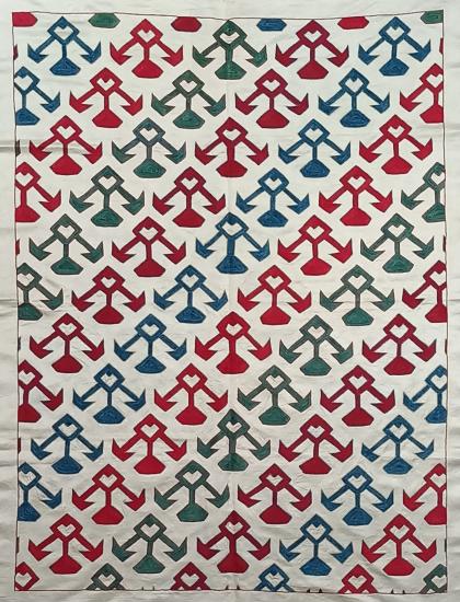 Suzani İpek Panel ( 98x130cm )