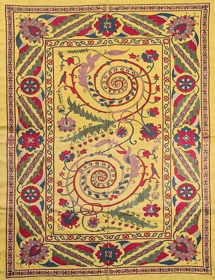 Suzani Masa Örtüsü (120x155cm )