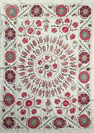 Suzani Masa Örtüsü (120x170cm )