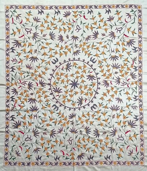 Suzani Masa Örtüsü (140x160cm )