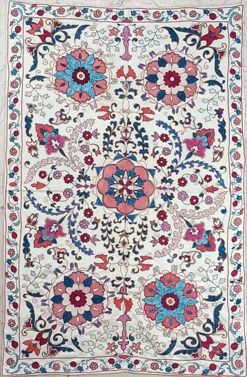 Suzani İpek Panel ( 97x147cm )