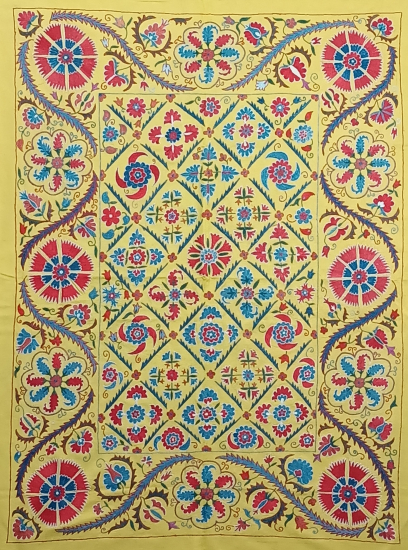 Suzani İpek Panel ( 100x135cm )