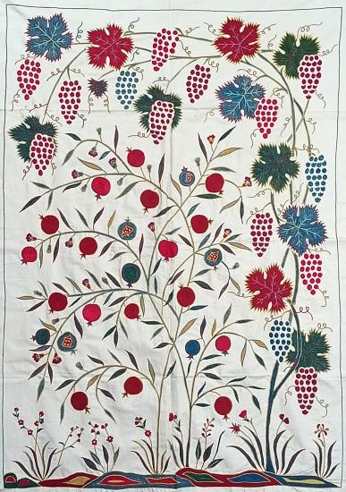 Suzani İpek Panel ( 100x140cm )