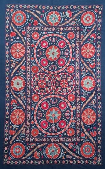 Suzani İpek Panel ( 100x162cm )