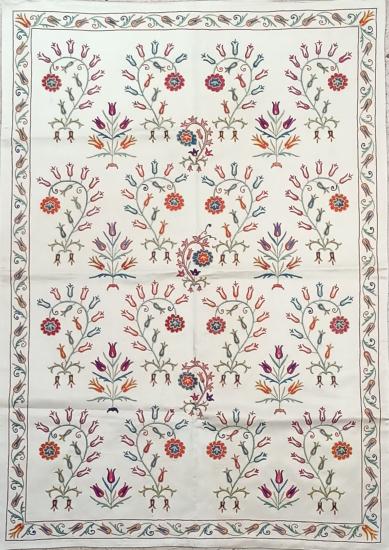Suzani İpek Panel ( 105x150cm )