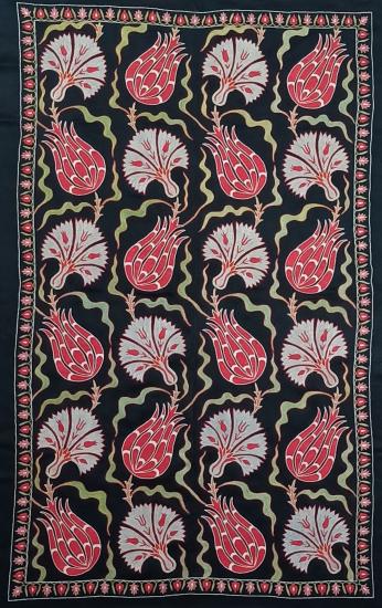 Suzani İpek Panel ( 90x150cm )