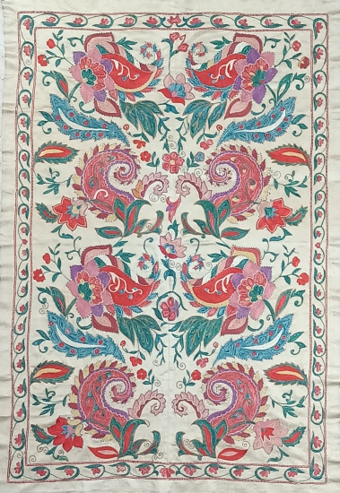 Suzani İpek Panel ( 95x140cm )