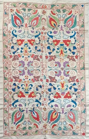 Suzani İpek Panel ( 95x150cm )