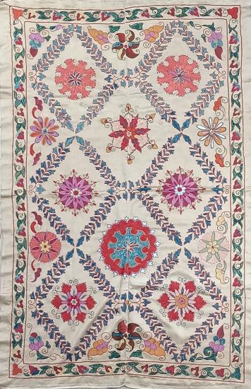 Suzani İpek Panel (100x140cm )