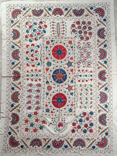Suzani Yatak Örtüsü (180x260cm )
