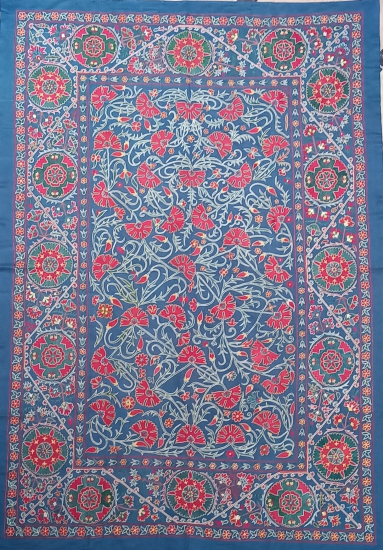Suzani Yatak Örtüsü (185x260cm )
