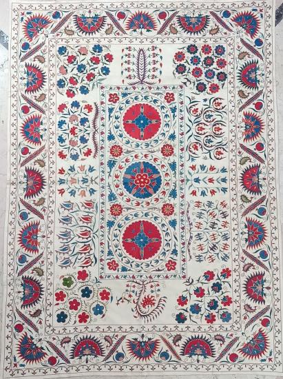 Suzani Yatak Örtüsü (200x250cm )