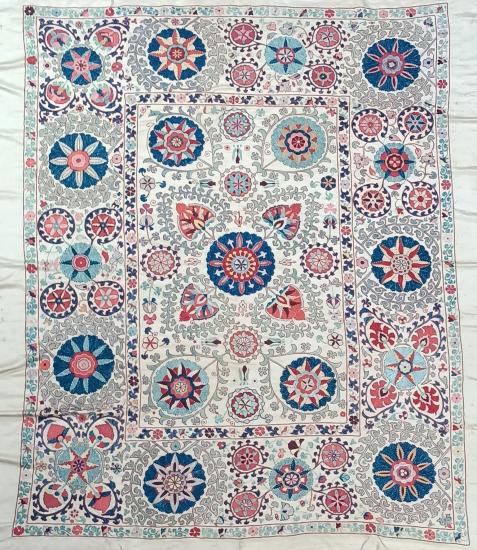 Suzani Yatak Örtüsü (205x235cm )