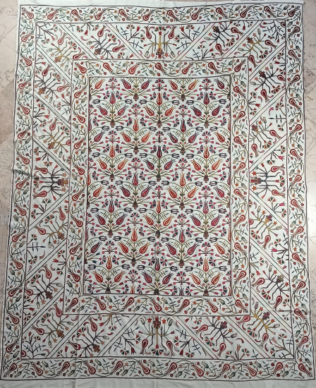 Suzani Yatak Örtüsü (230x300cm )